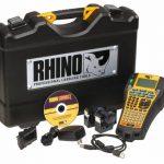 Przemysłowa drukarka etykiet Dymo Rhino 6000 zestaw walizkowy