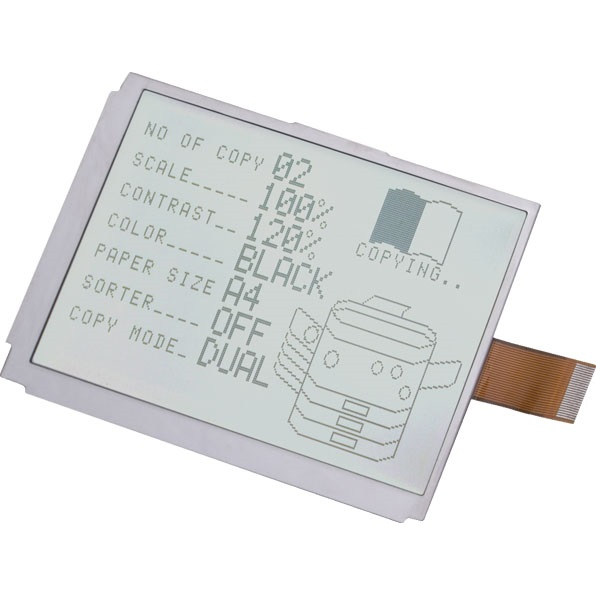 Graphic LCD displays