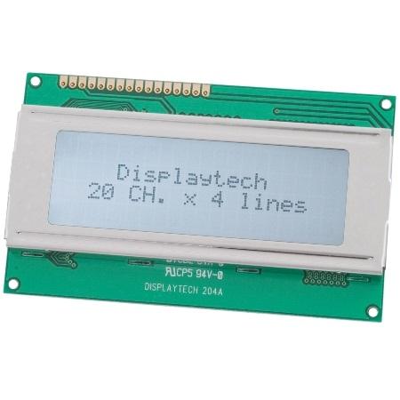 Alphanumeric LCD displays
