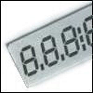 Numeric LCD displays